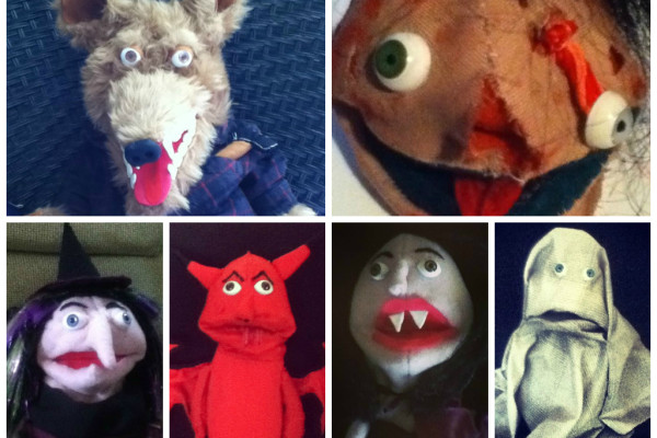 puppet collage
