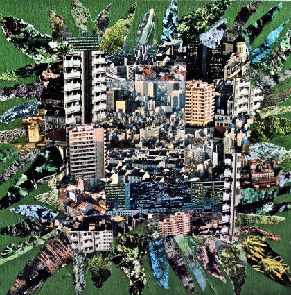 Exploding Cityscape